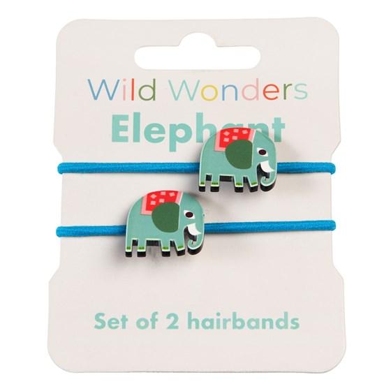 HAIRBANDS - WILD WONDERS ELEPHANT (SET OF 2)