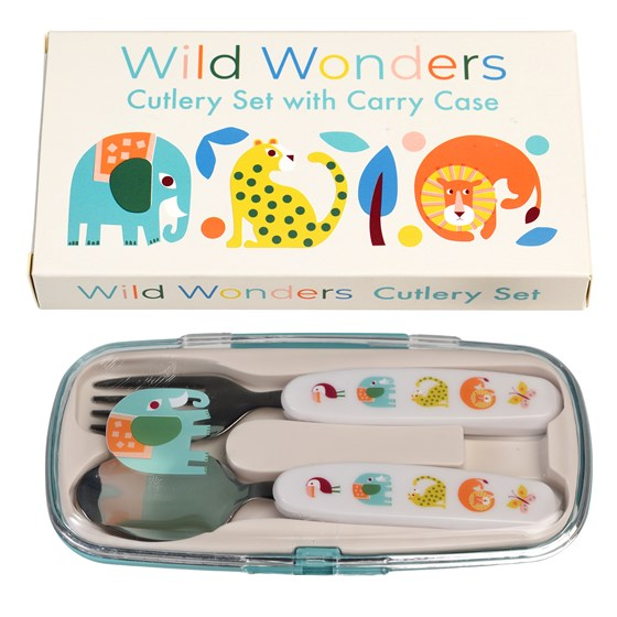 CUTLERY SET - WILD WONDERS