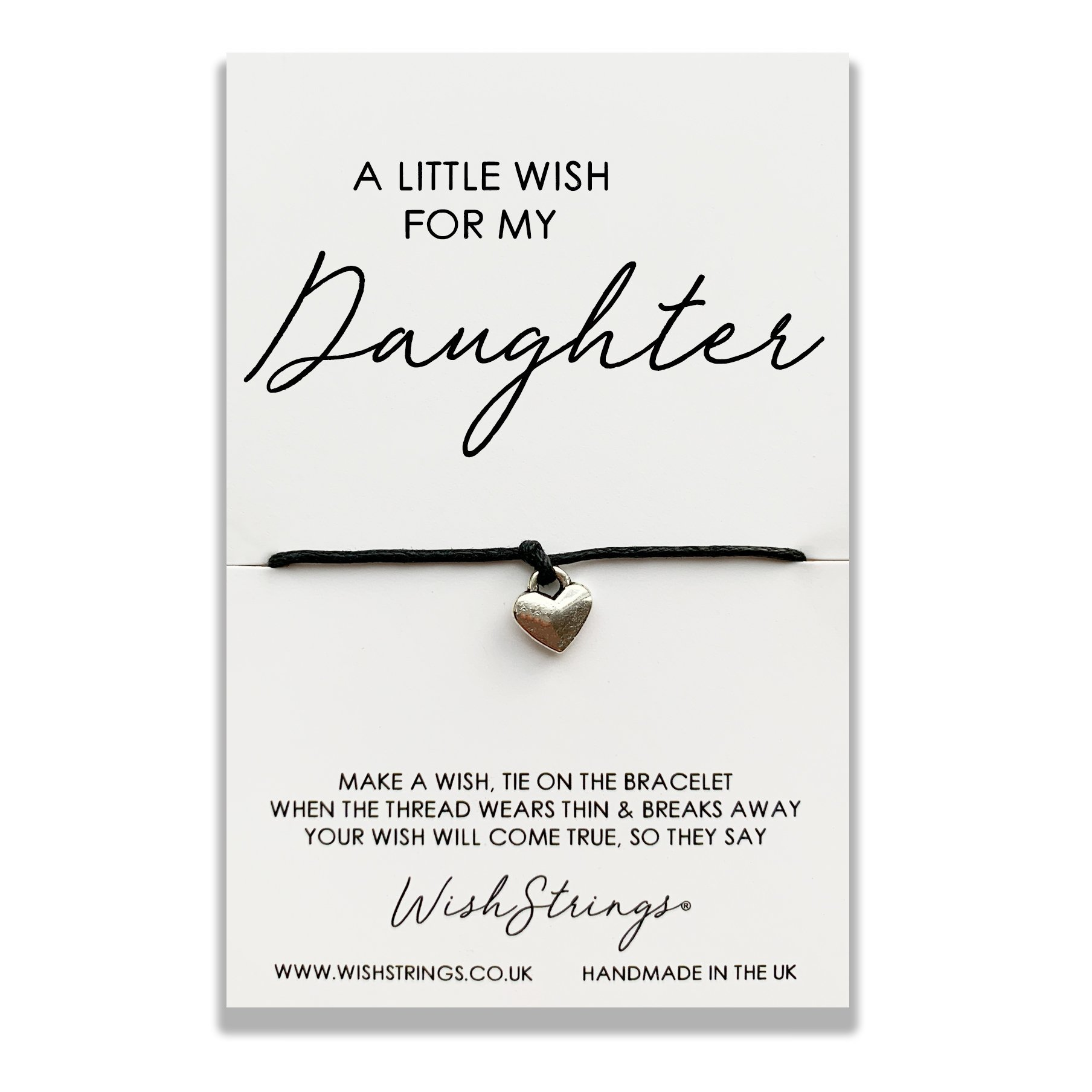 A LITTLE WISH FOR MY DAUGHTER WISHSTRING