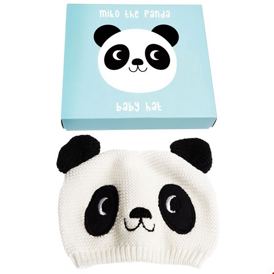 BABY HAT - MIKO THE PANDA BABY HAT
