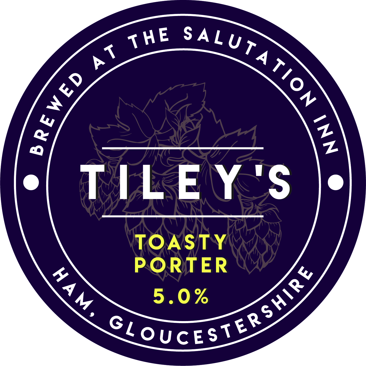 Tiley's Brewery Toasty Porter 5.0% Bag-in-Box