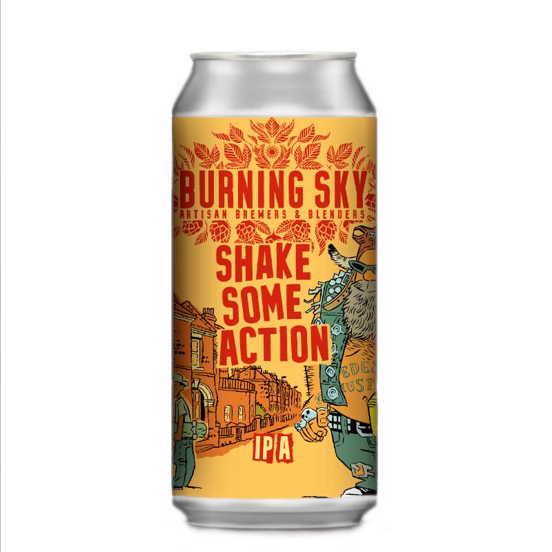 Burning Sky Shake Some Action IPA 7.0% (440ml)
