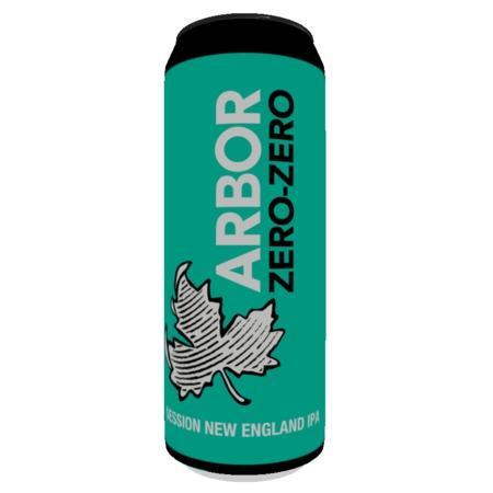 Arbor Ales Zero Zero 4.3% (568ml)