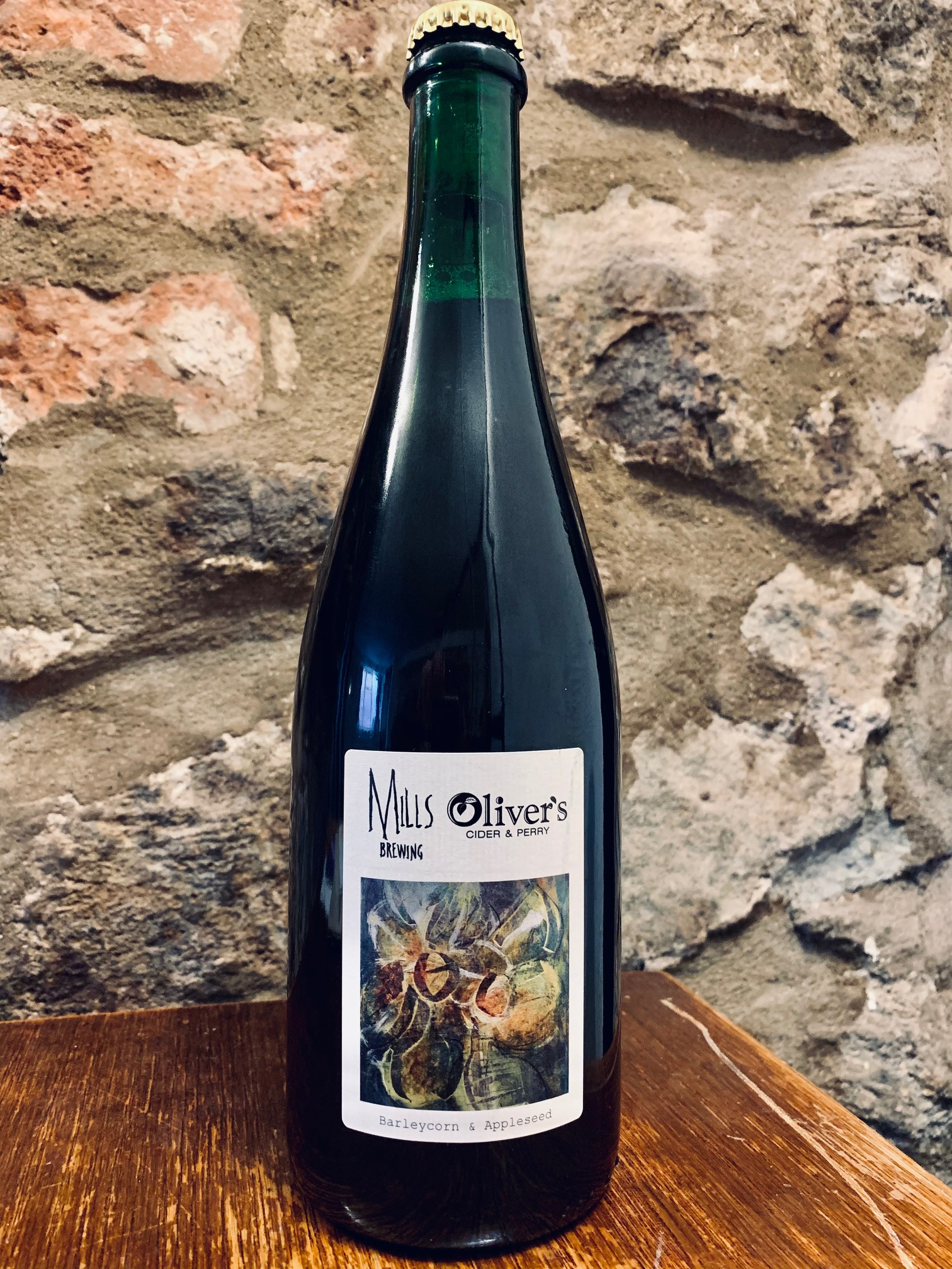 Mills Brewing / Oliver's Barleycorn  & Appleseed 10.2% (750ml) - LIMITED TO ONE BOTTLE PER PERSON