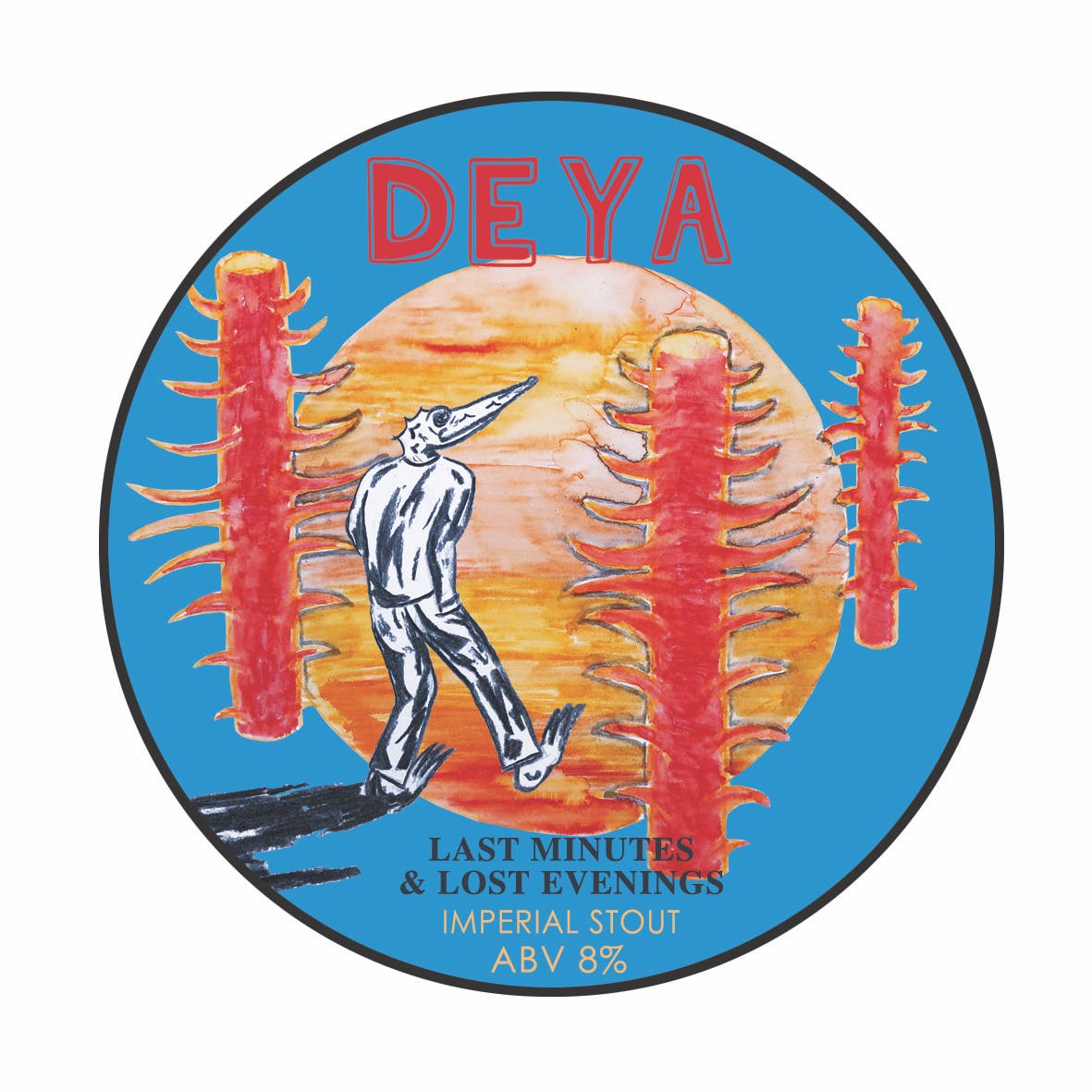 DEYA Last Minutes and Lost Evenings 8.0% (500ml)