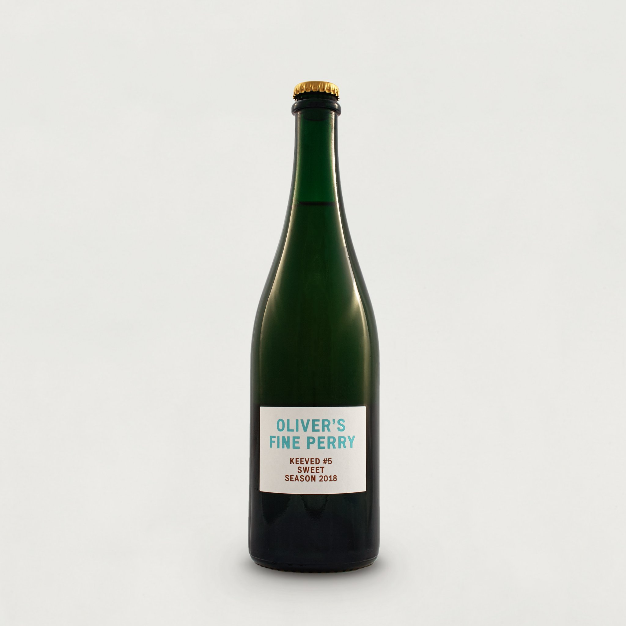 Oliver's Keeved Perry #5 2018 4.3% (750ml)