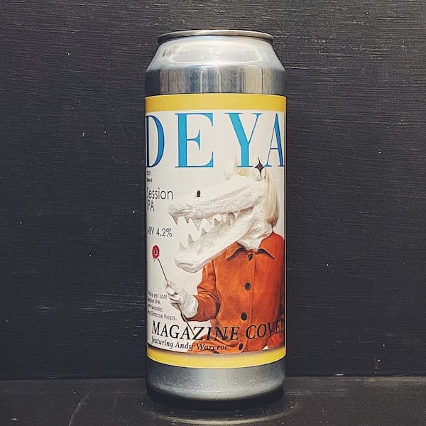 DEYA Magazine Cover Session IPA 4.2% (500ml)