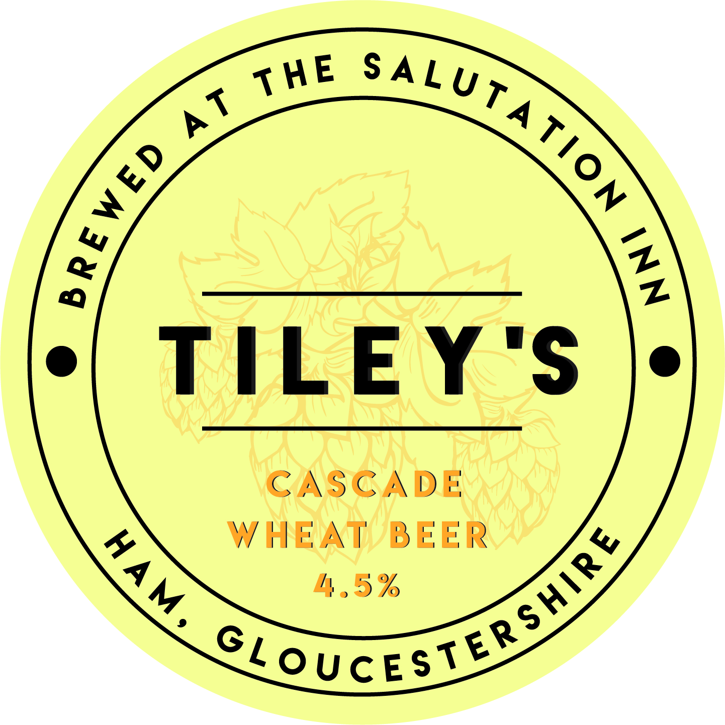 Tiley's Brewery Cascade Wheat Beer 4.5% Bag-in-Box