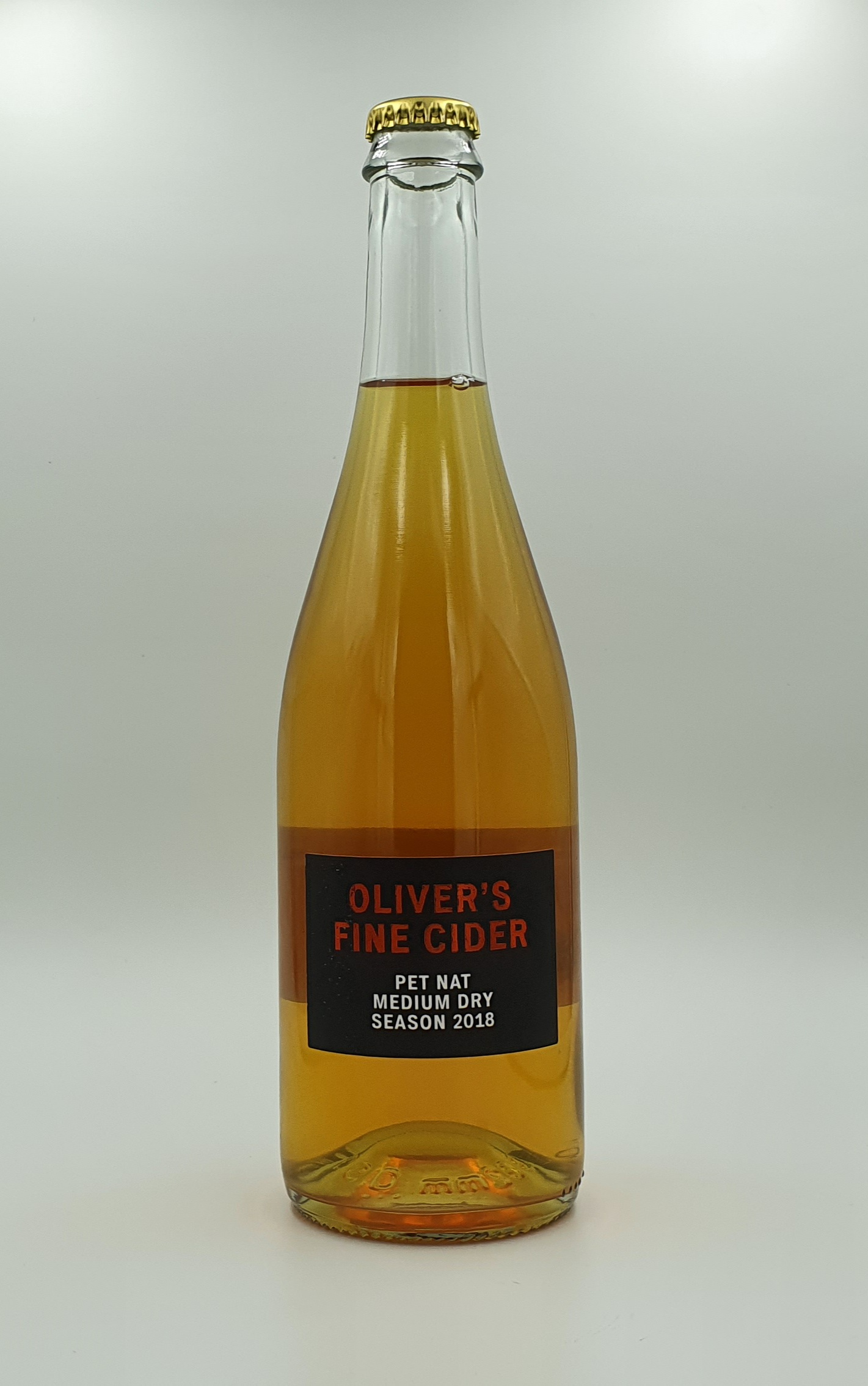 Oliver's Fine Cider Pet Nat Medium Dry 2018 5.4% (750ml)