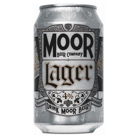 Moor Lager (4.0%) 330ml
