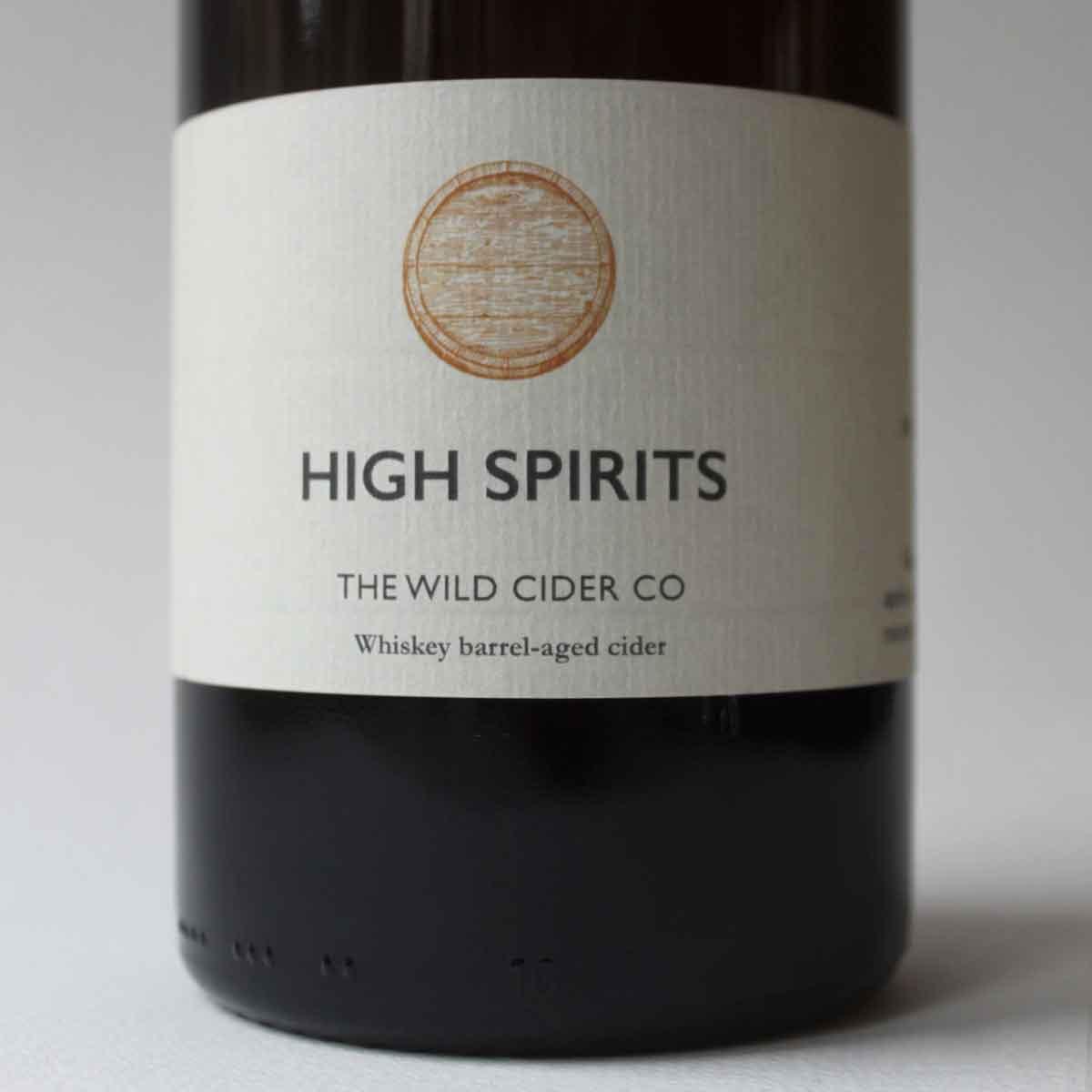Wild Cider Co High Spirits 7.0% (750ml)