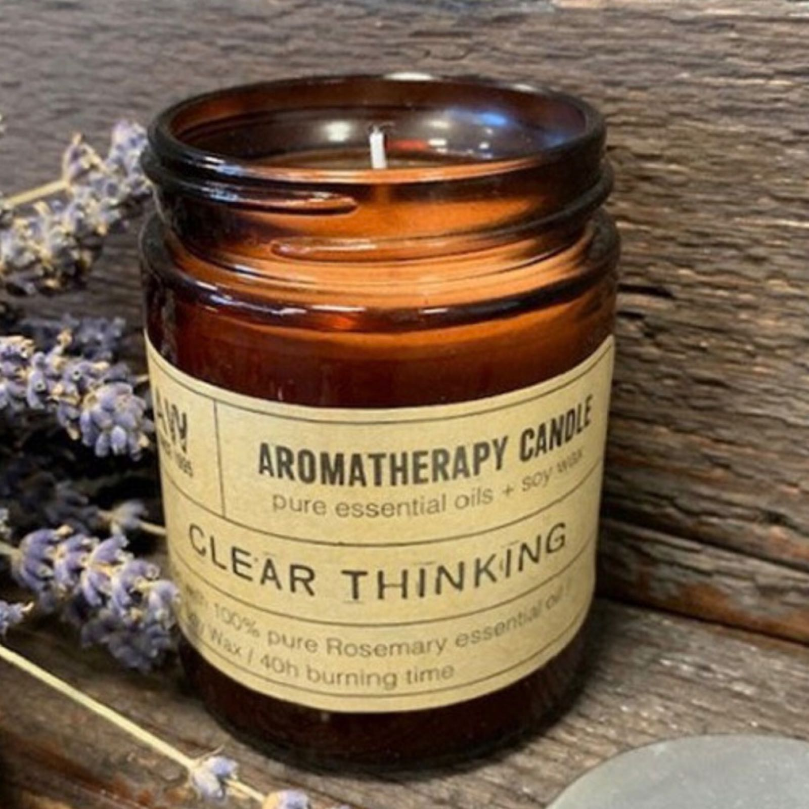 Clear Thinking Aromatherapy Candle