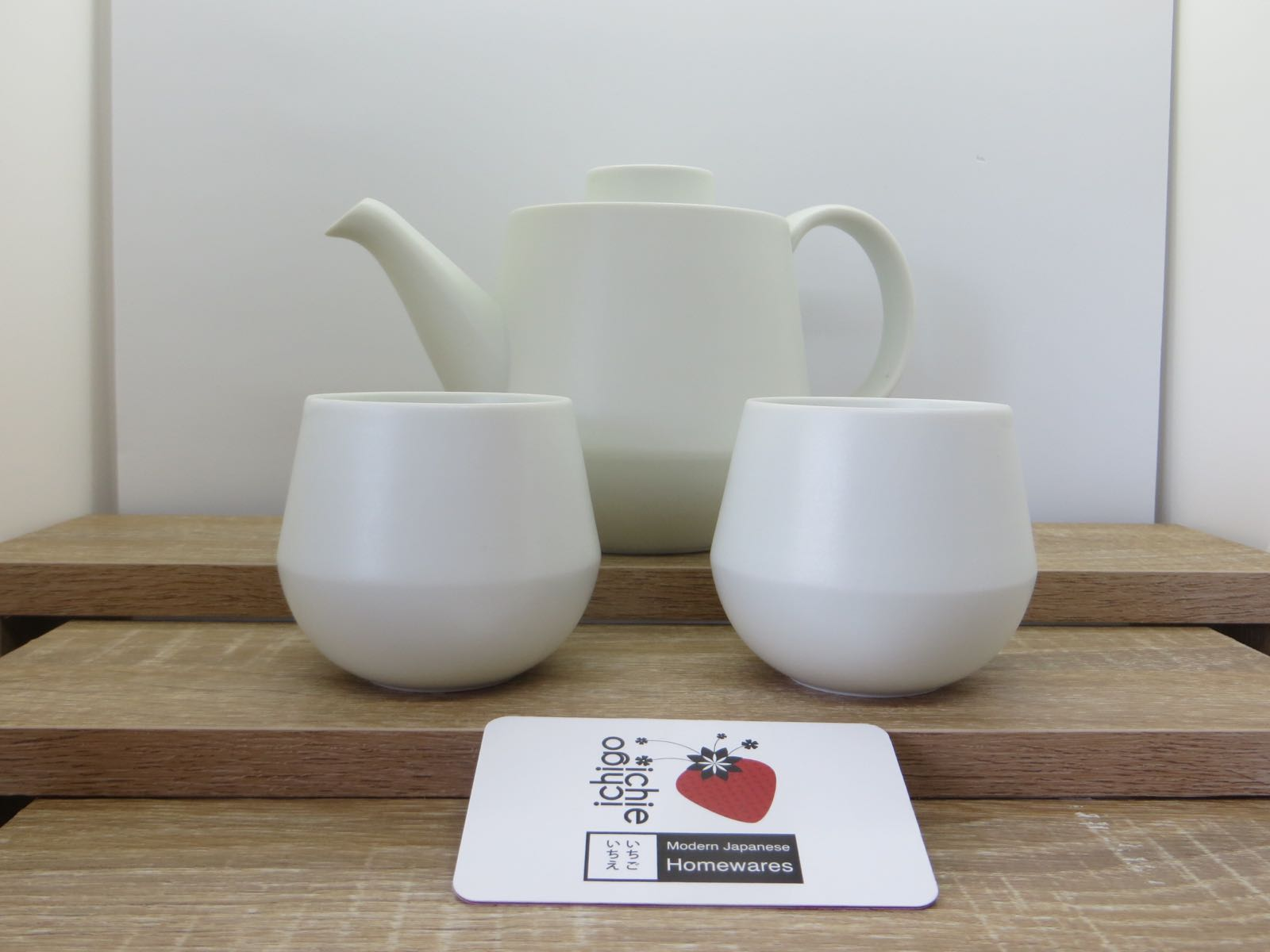 KIHARA Elemental Tea Pot & 2 Cups