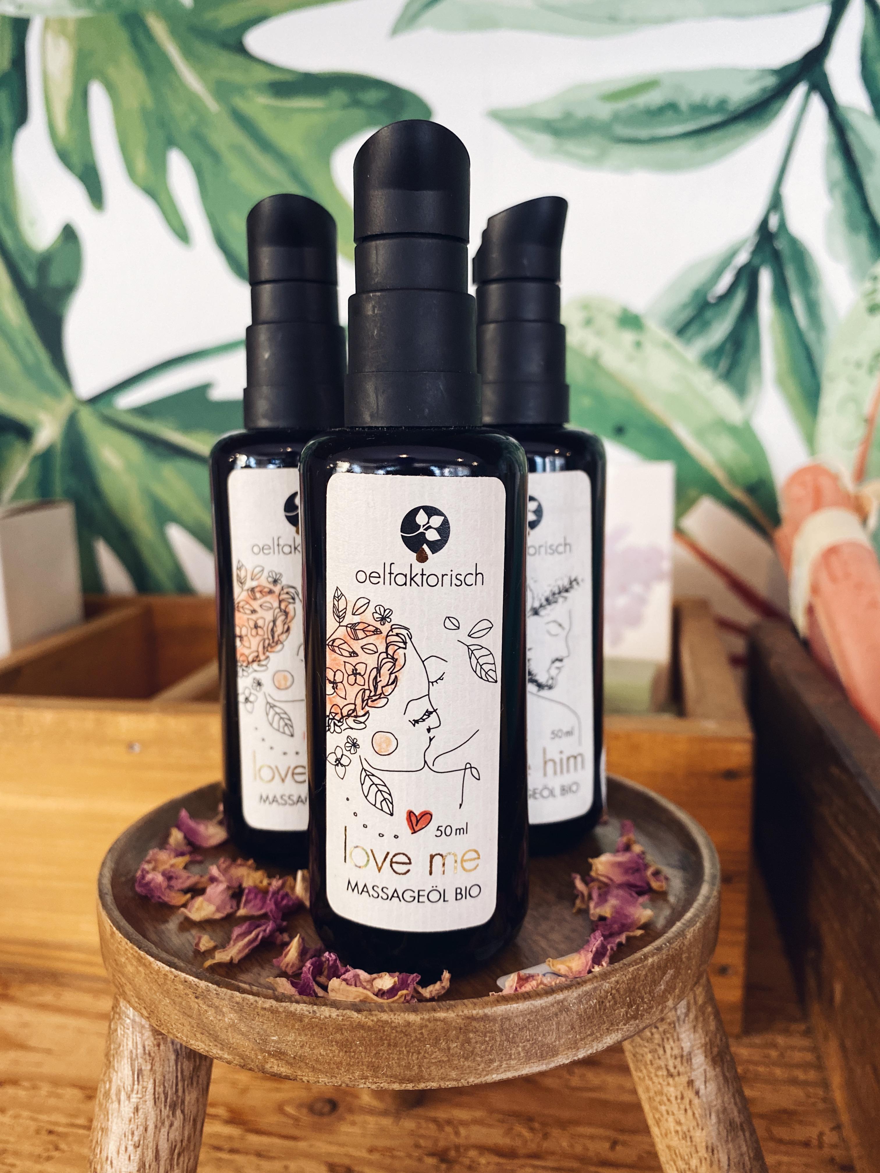 Ölfaktorisch Massageöl