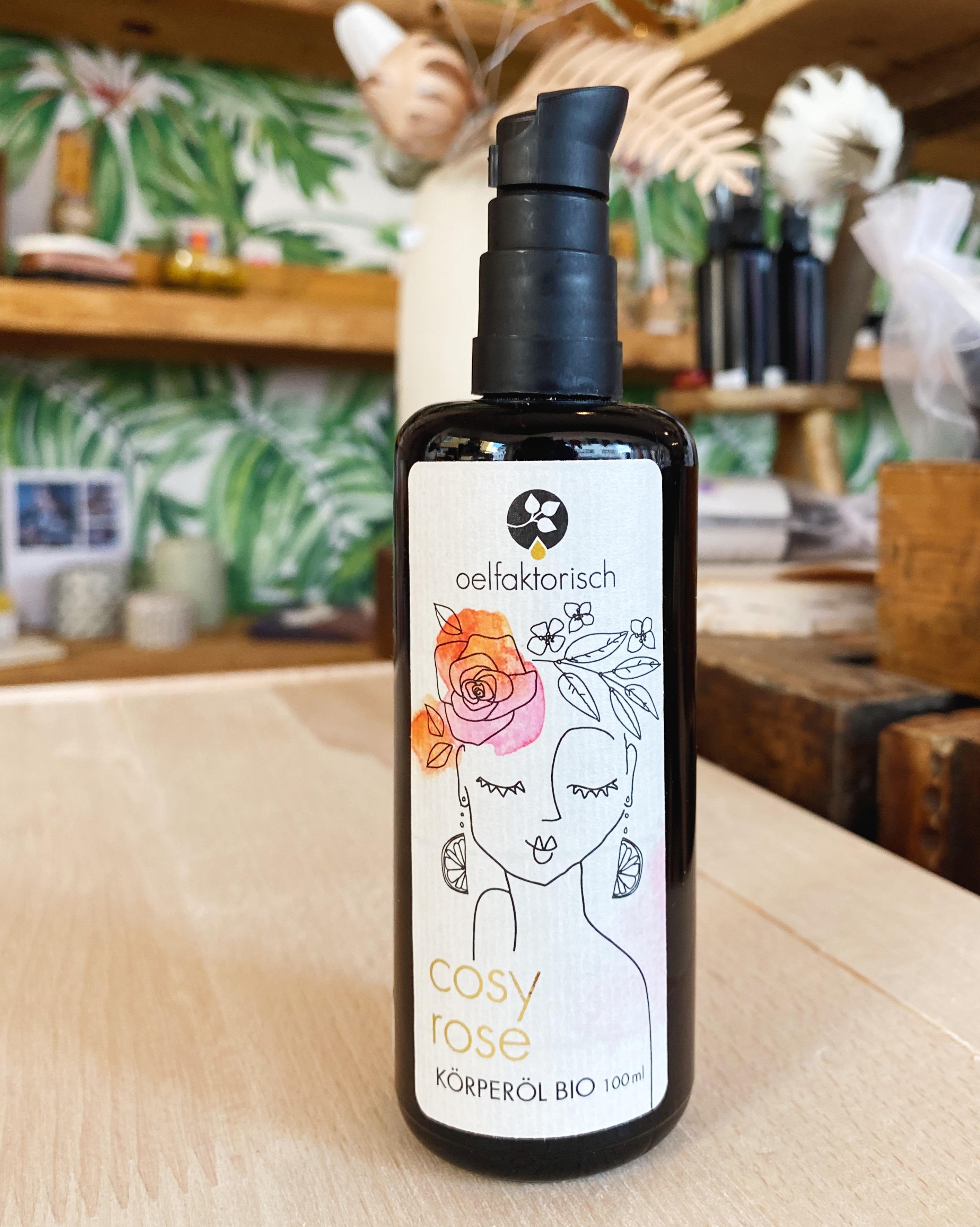 """Ölfaktorisch """"Cosy Rose"""" Körperöl"""