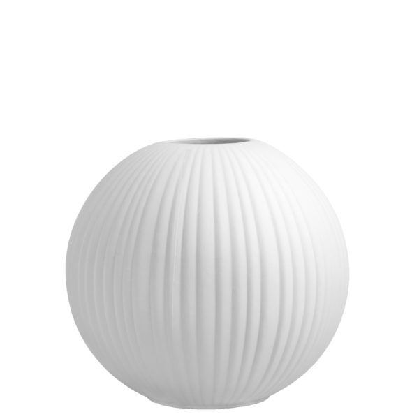 "Storefactory Vase ""Vena"" weiß"