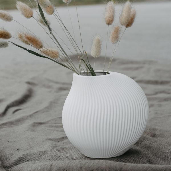 "Storefactory Vase ""Lerbäck"" weiß"