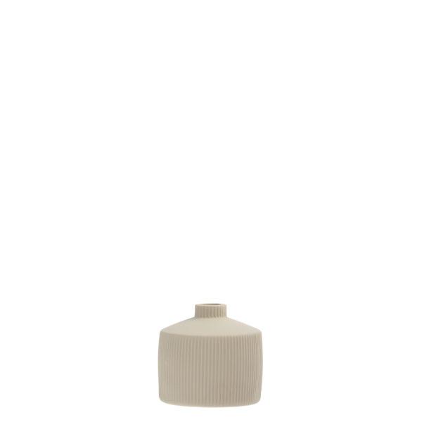 "Storefactory Vase ""Berga"" beige"