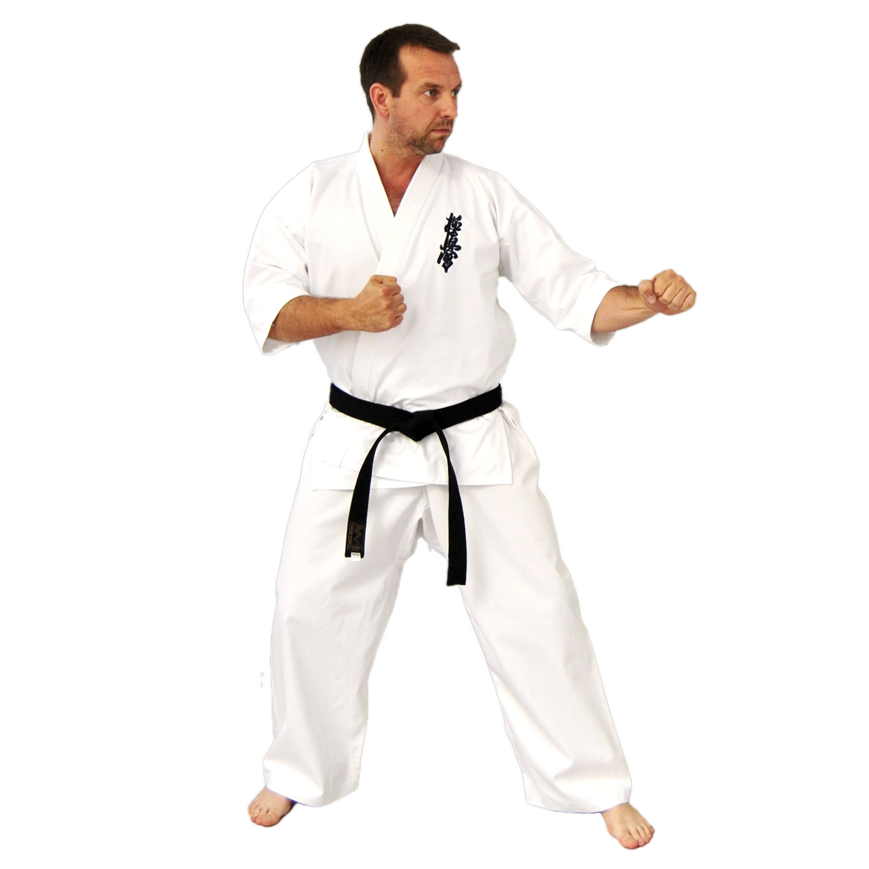 Budo Gi / Anzug - weiß - Kyokushin