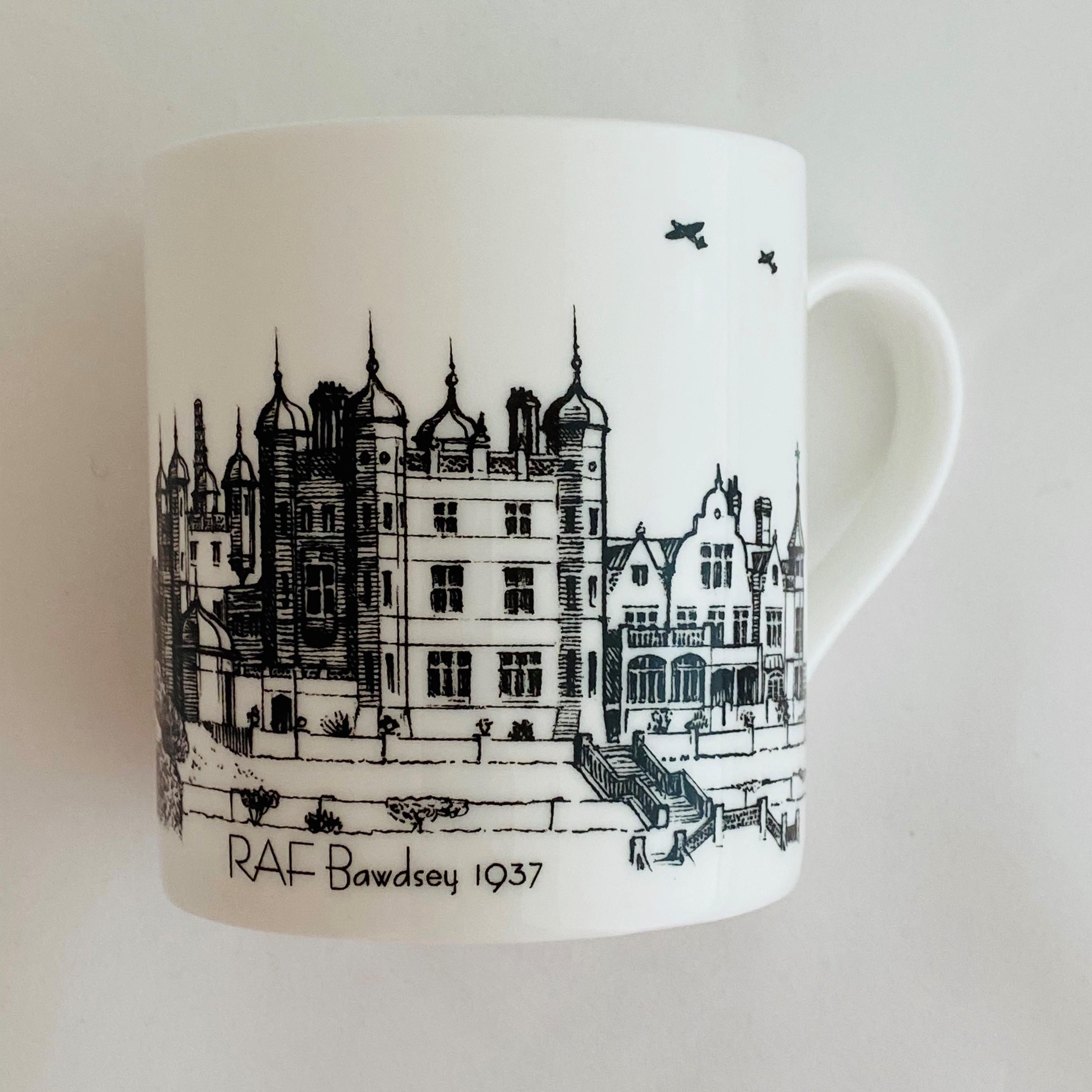 RAF Bawdsey 1937 Mug