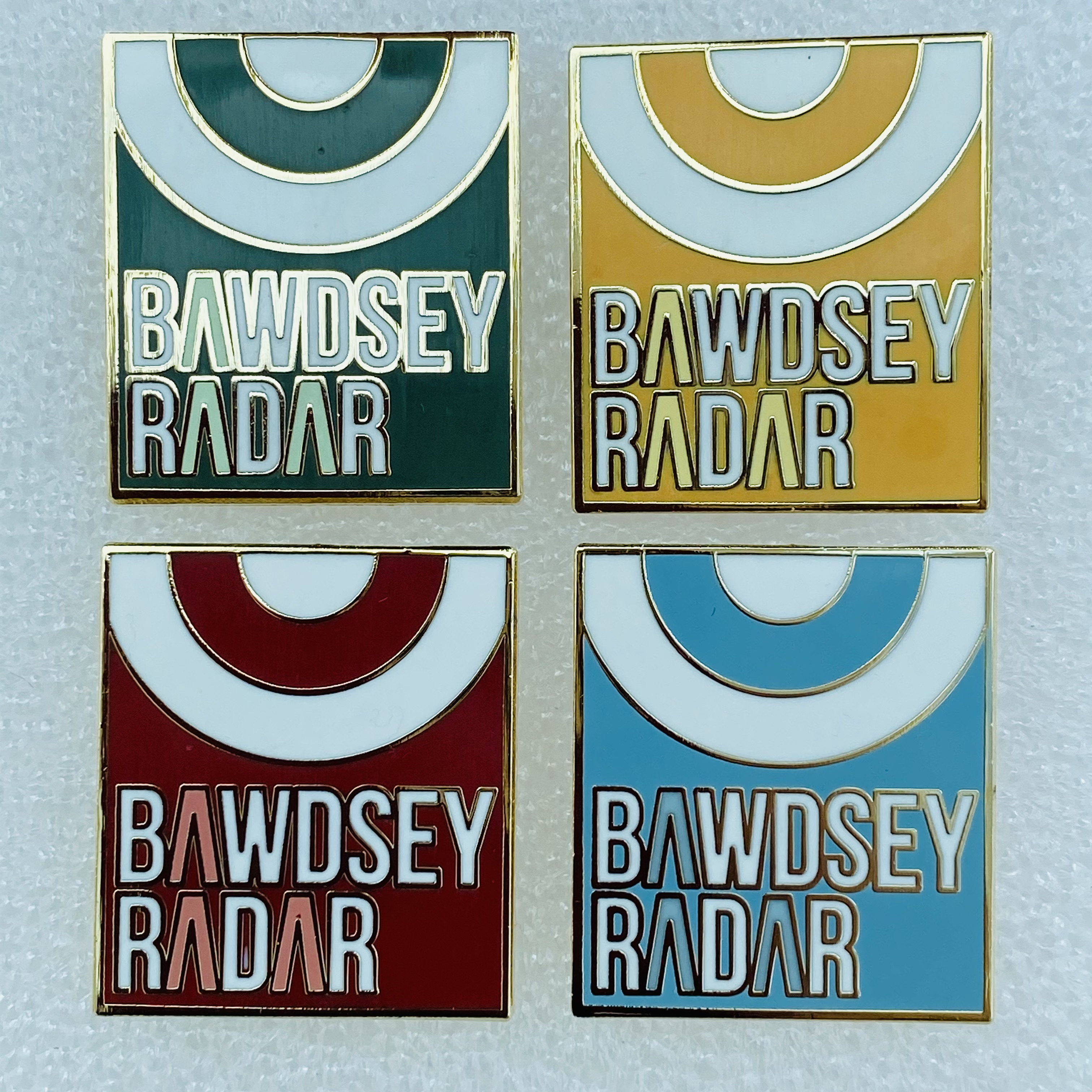 Lapel Badge set of 4