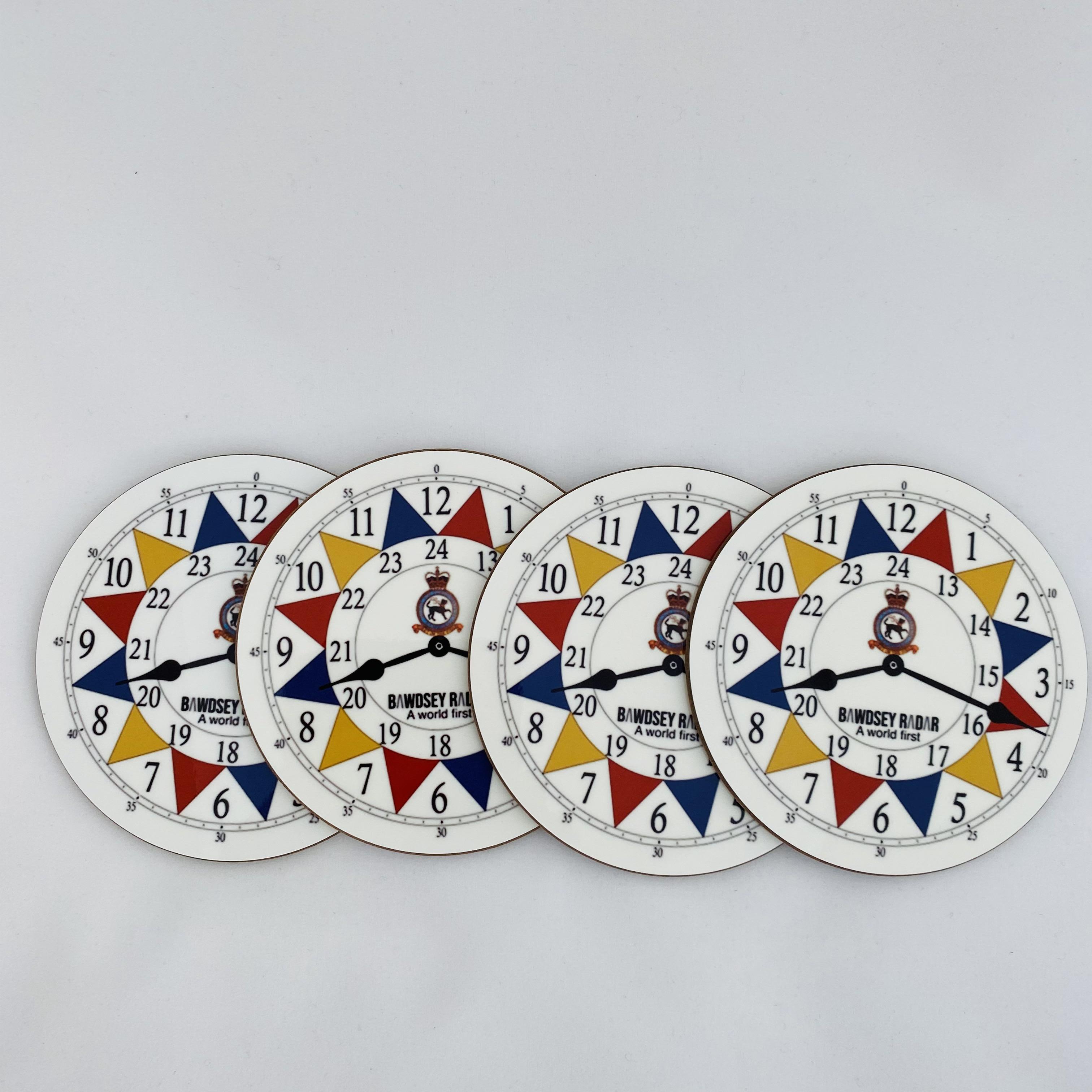 Coasters - set of 4