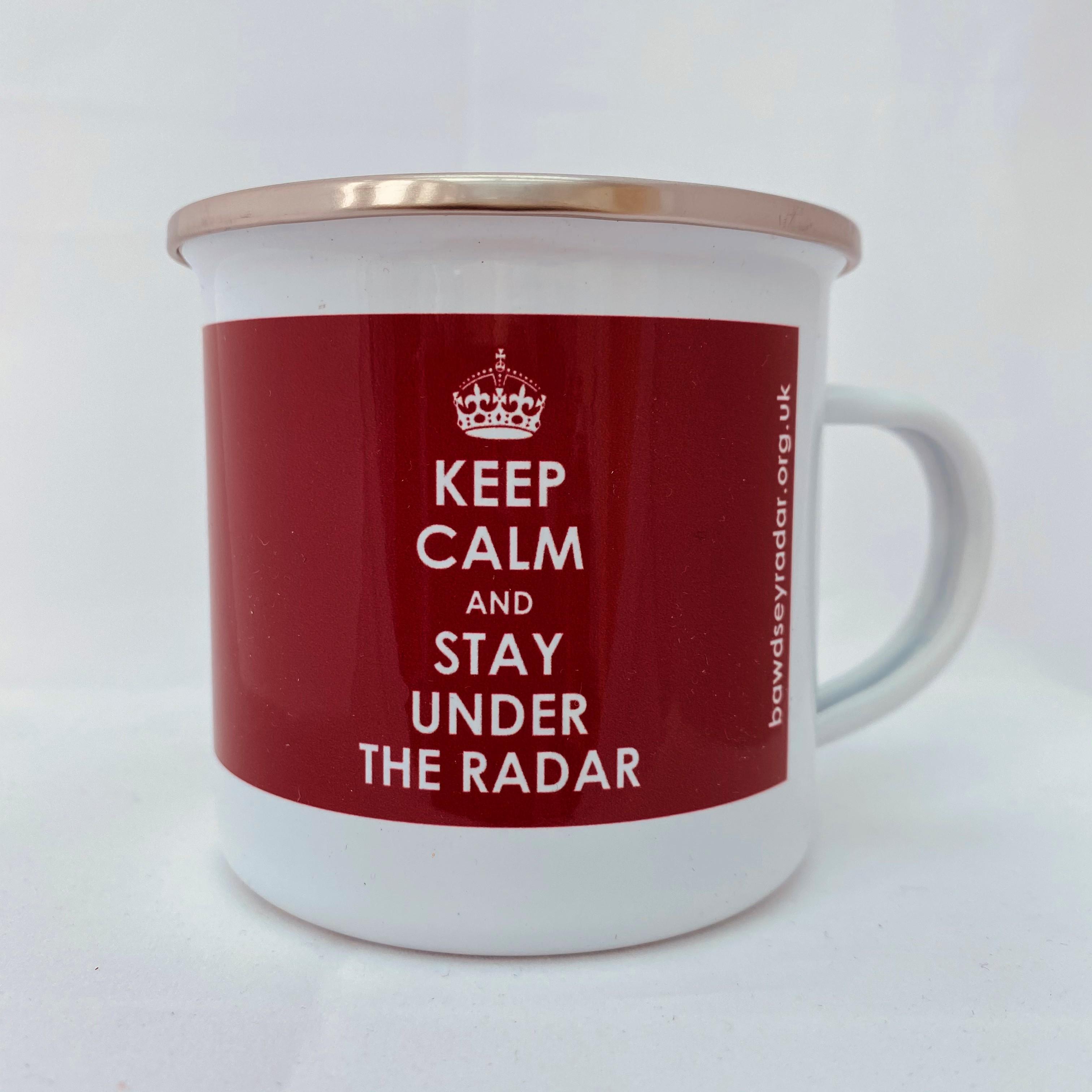 KEEP CALM Enamel Mug