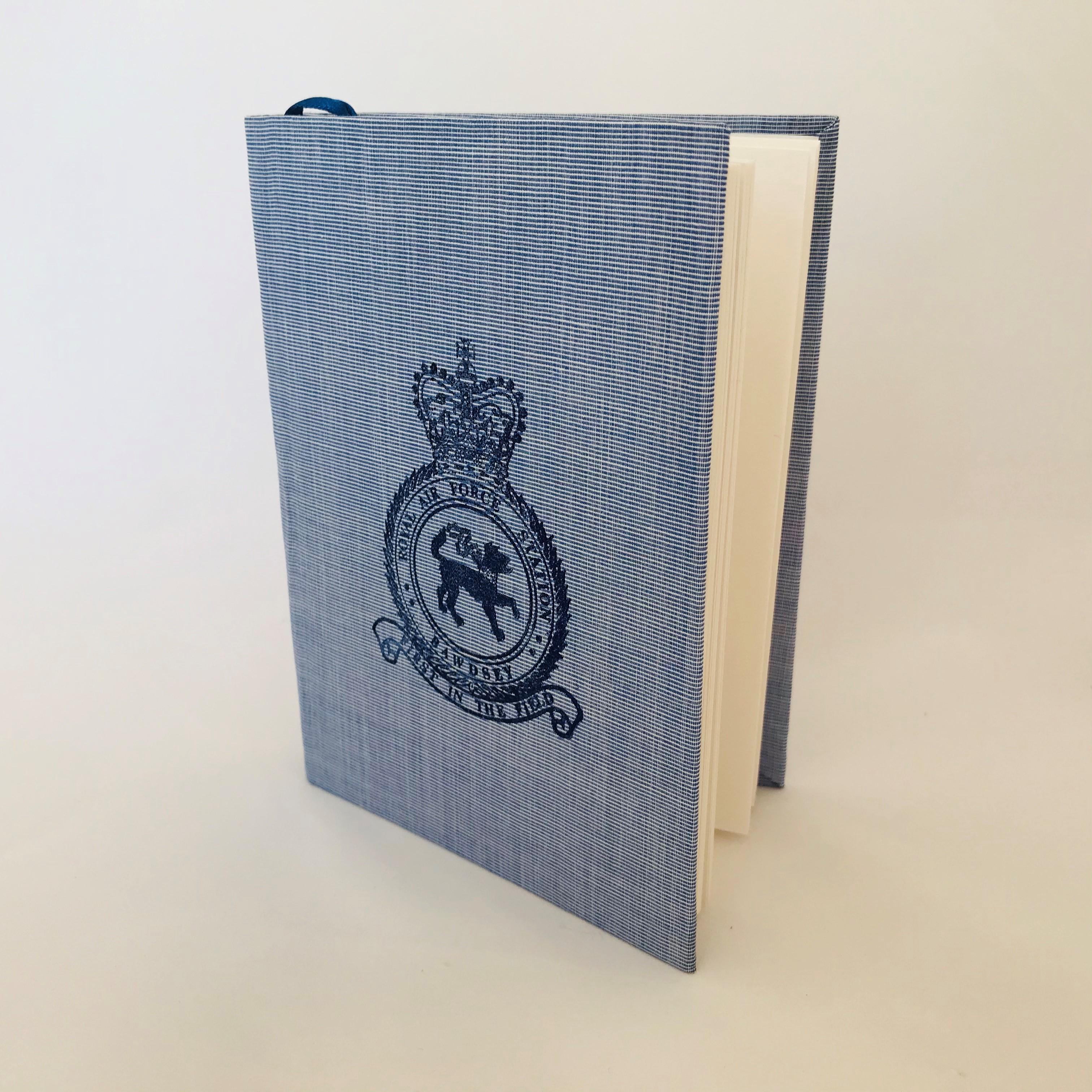 Handcrafted Notebook RAF Bawdsey