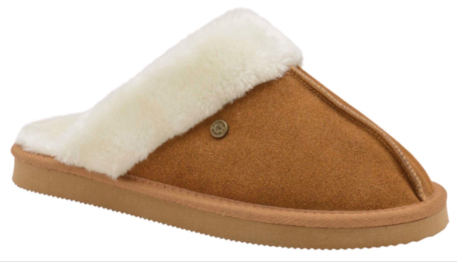 Dunlop Slippers Janie Tan