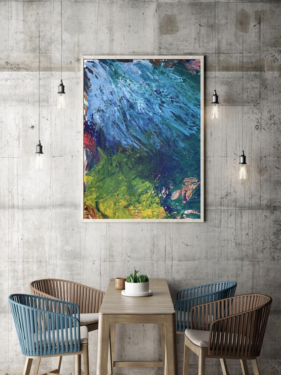 Die Eisblume (80 x 100)