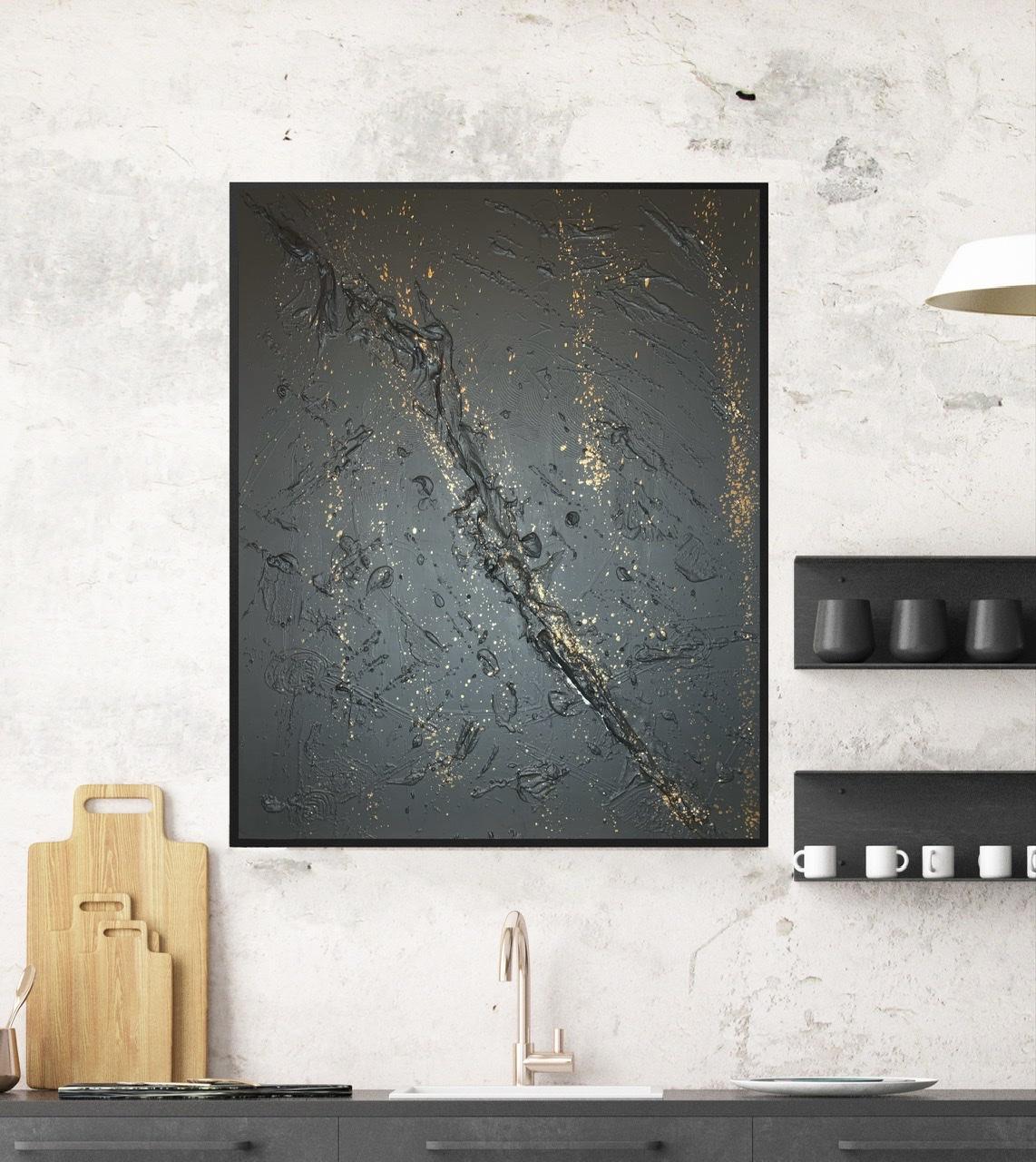 Black Mountain (80 x 100)