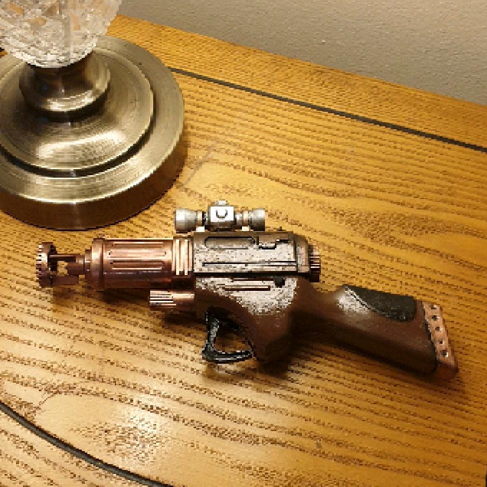 Steampunk Bubble Gun.