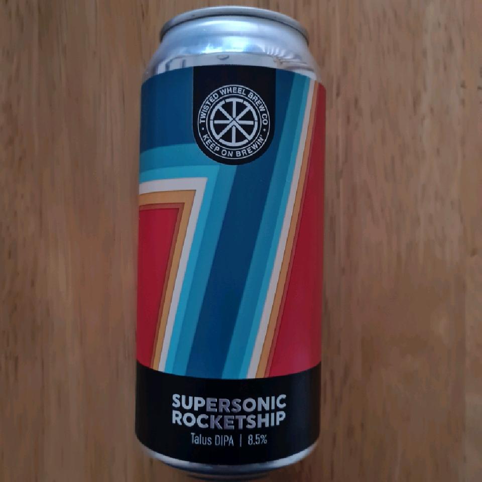 Twisted Wheel Supersonic Rocketship