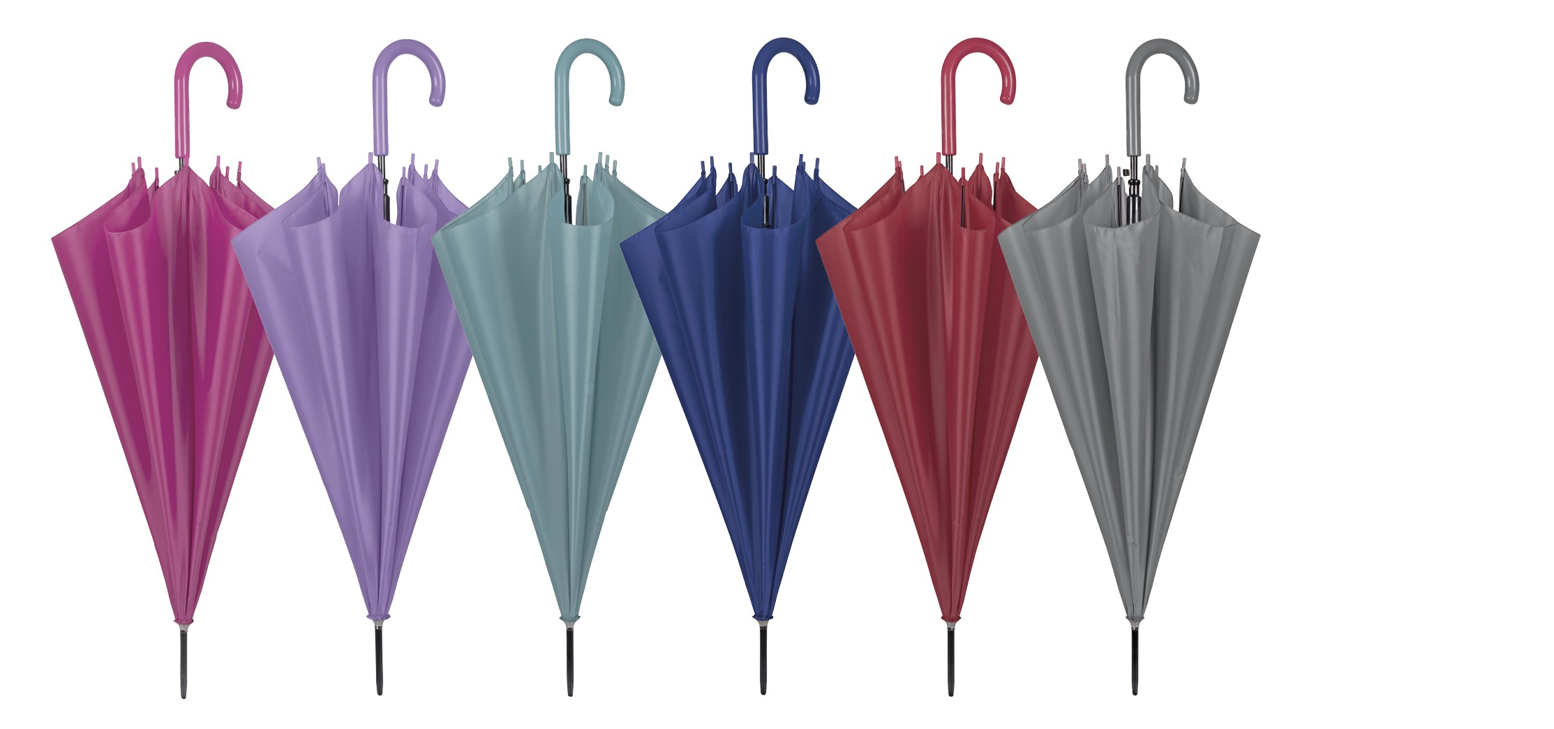 Walking stick umbrellas