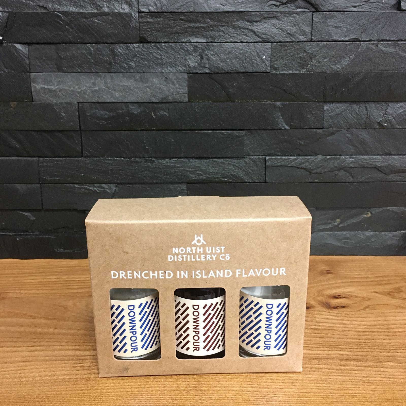 Downpour Gin Gift Pack 3x5cl