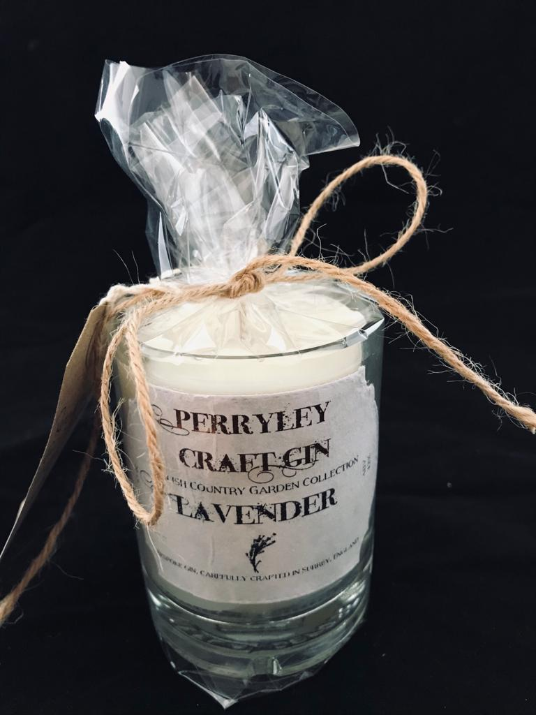 150g Recycled Gin Bottle - French Lavender