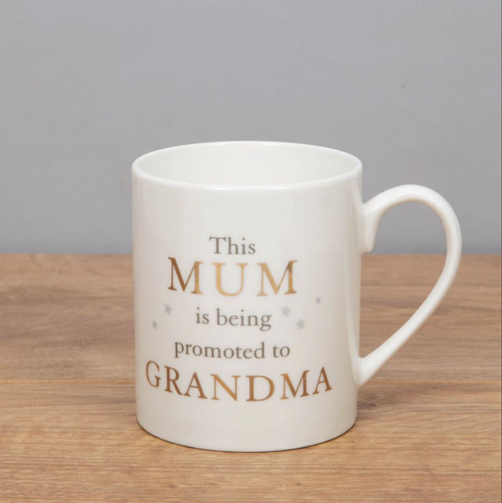 Mum Promoted to Grandma Bone China Mug