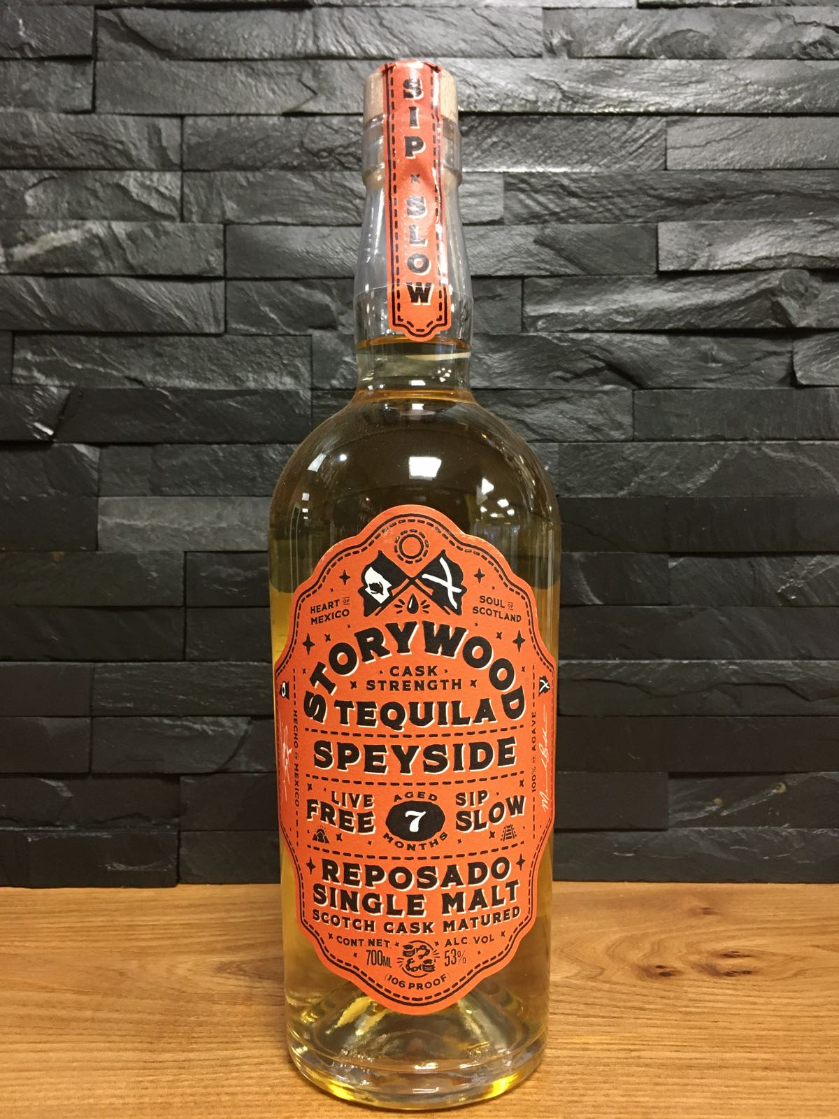 Storywood Tequila Sherry 7 Cask Strength 70cl