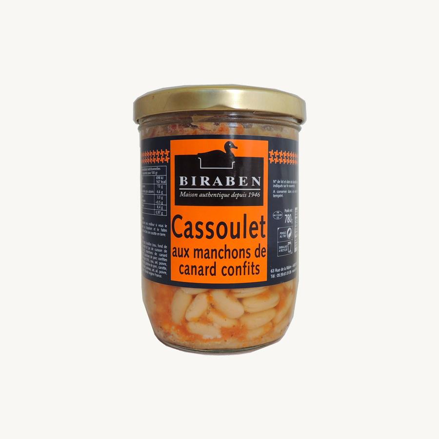12/ Cassoulet 780g - Biraben