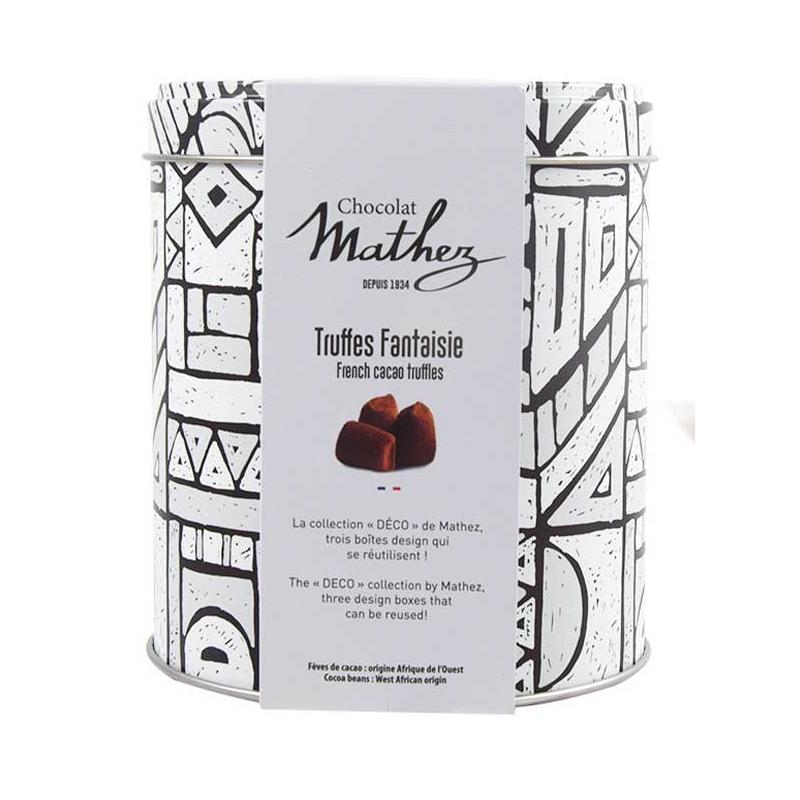 08/ Sjokoladetrøfler m/ lakris, 250g - Mathez