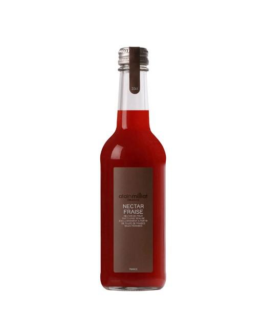 12/ Jordbær-nektar 33cl - Alain Milliat