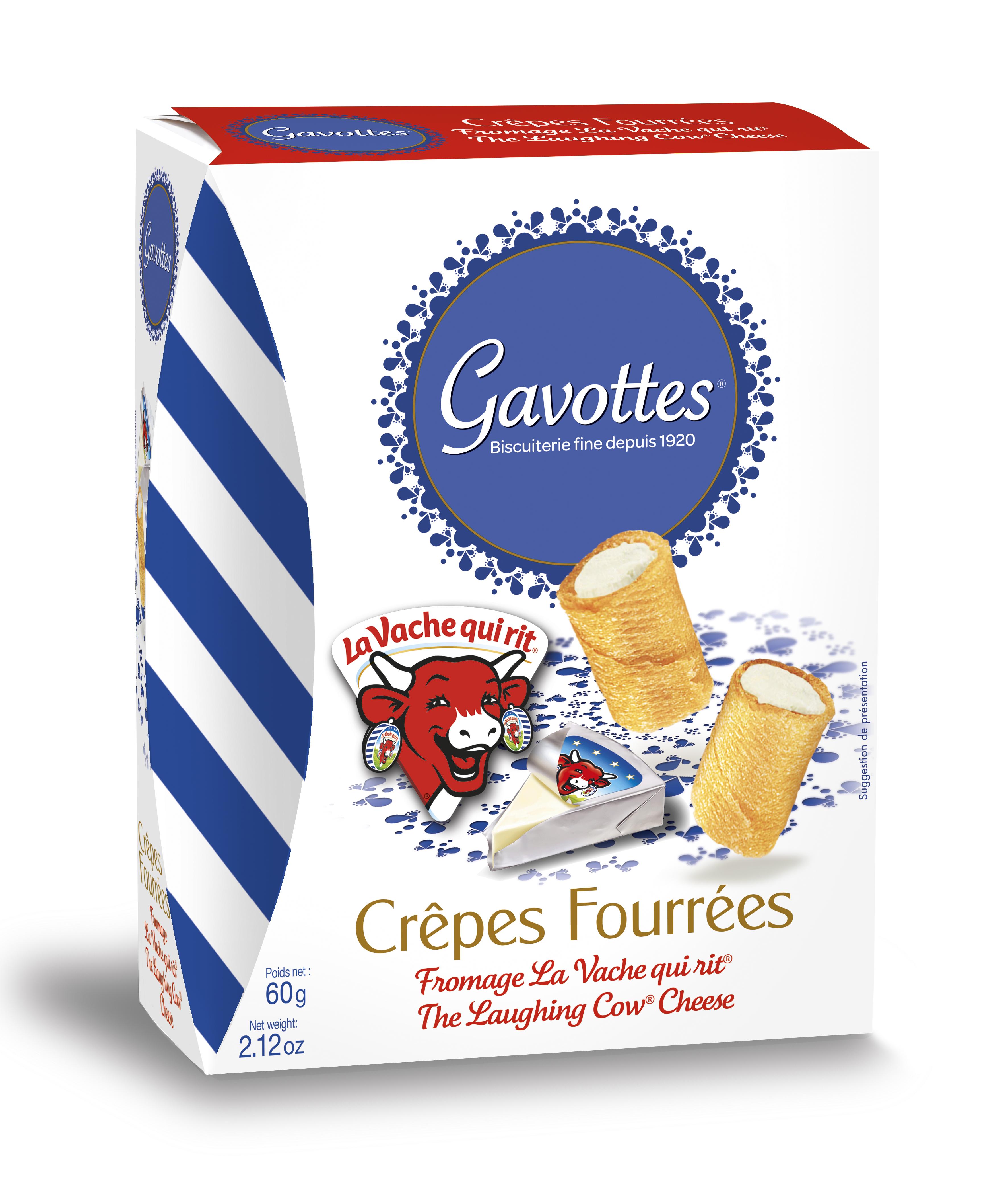 17/ Crêpes fylte med Vache Qui Rit, 60g - Gavottes