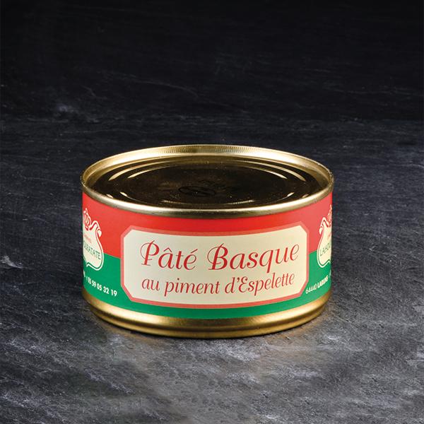 14/ Baskisk svinepaté 180g - Lahouratate