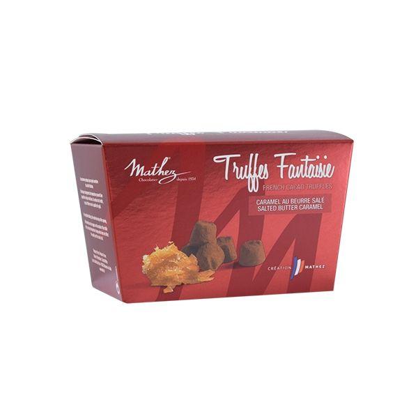 03/ Sjokoladetrøfler m/ salt karamell, 100g - Mathez