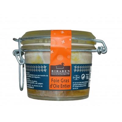 03/ Foie gras av hel gåselever 130g - Biraben