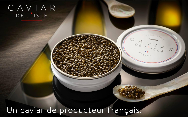 Størkaviar Baeri, 30g - Caviar de l'Isle