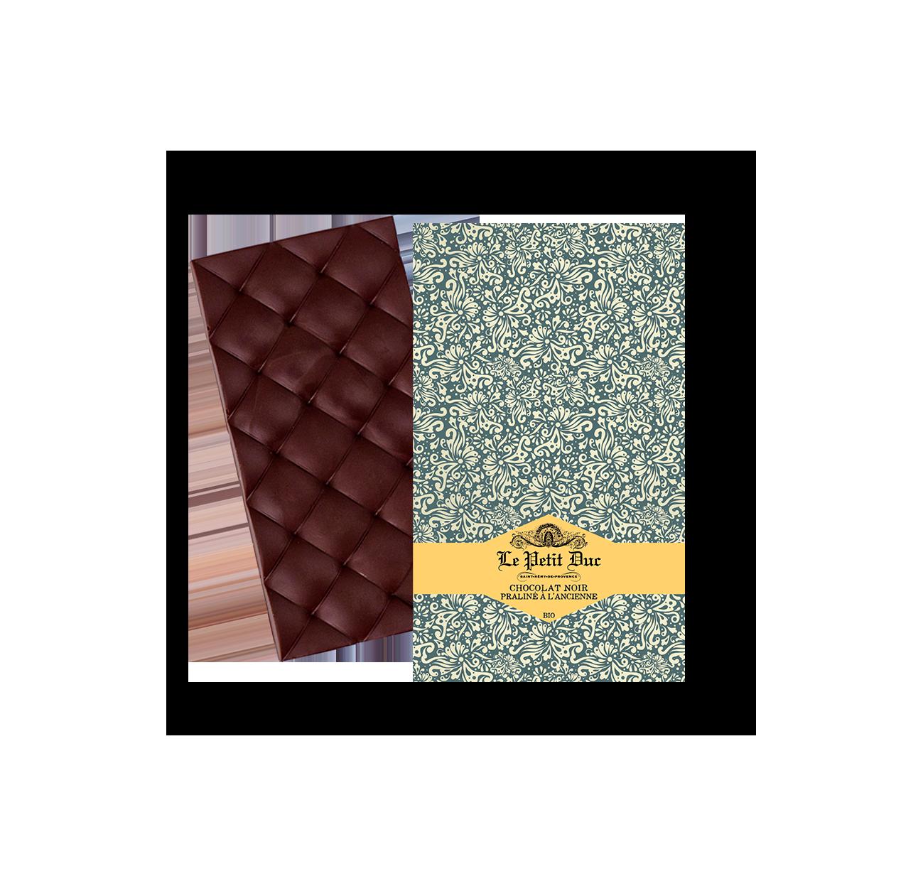 05/ Mørk sjokolade med pralin, 70g - Le Petit Duc