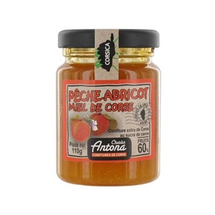 10/ Ferskensyltetøy med honning 110g - Antona