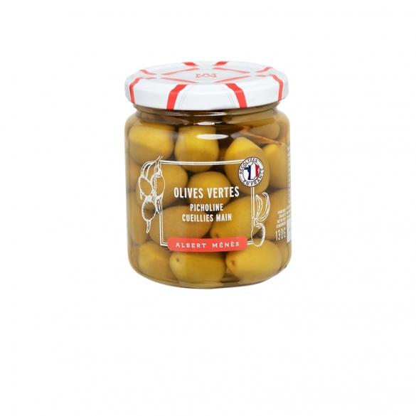 09/ Grønne oliven Picholine 225g - Albert Ménès