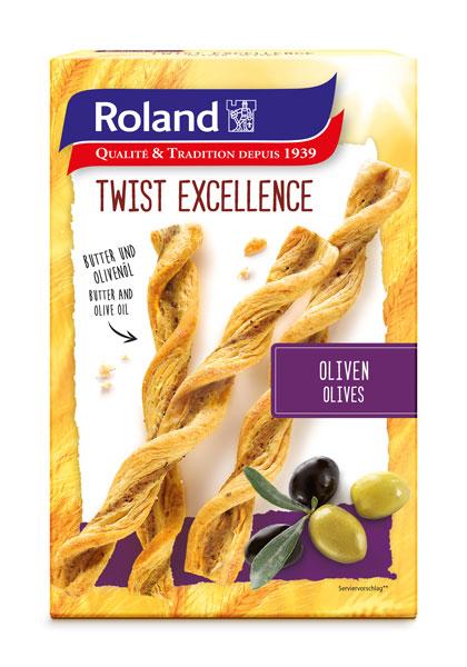 05/ Brødpinner med oliven 100g - Roland
